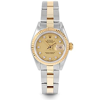 Rolex Datejust Swiss-Automatic Female Watch 69173 (Certified Pre-Owned) by Rolex