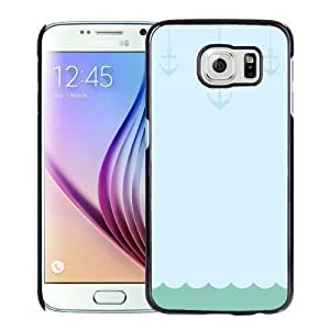 New Personalized Custom Designed For Samsung Galaxy S6 Phone Case For Cartoon Anchors Phone Case Cover