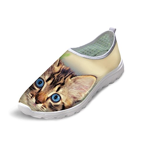 Bigcardesigns Lovely Kitty Female Running Shoes Sneakers Lightweight cat 4 Zc3fATa