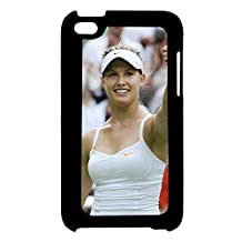 Printing Eugenie Bouchard For Touch 4 Apple Abstract Back Phone Covers For Girl Choose Design 3