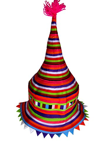 Tribal Hats Party Favors - Colorful Hat Accessories (Lisu 90) (Silly Hats)
