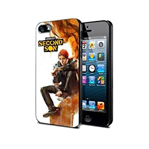 Infamous Second Son Game Case For Iphone 5 / 5s Silicone Cover Case Nif03