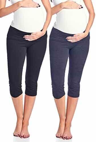 c322c5a36bd97 Pants & Capris Beachcoco Womens Maternity Comfortable Capri Pants Made in  USA