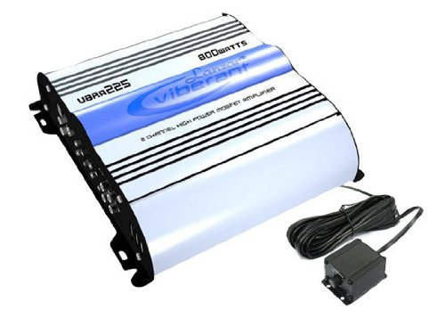 Lanzar VBRA225 800 Watt 2 Channel Mosfet Amplifier