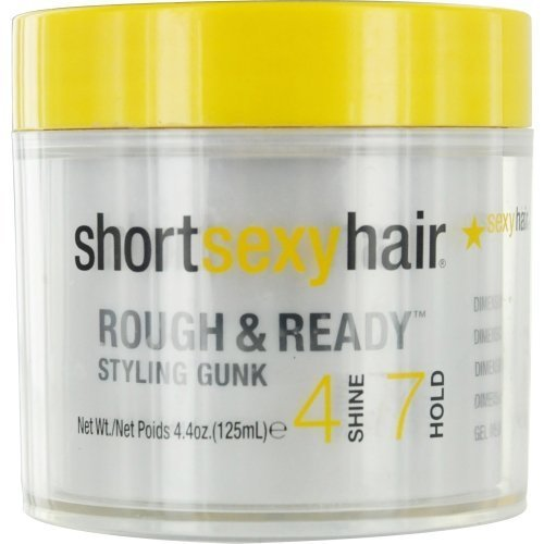 Rough Extra (Style Sexy Hair Dimension Rough & Ready 4 Shine 7 Hold Styling Pudding 4.4 oz (Pack of 2))
