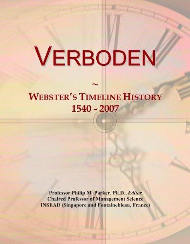 verboden-websters-timeline-history-1540-2007