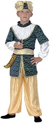 Disfraz de Sultán. Niño. Talla 5/6 años. Incluye: Sombrero, camisa ...