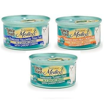Fancy Feast Elegant Medleys Shredded Canned Cat Food, My Pet Supplies