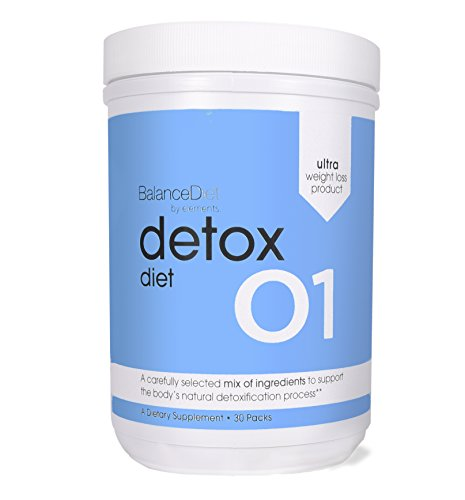 BalanceDiet 30 Day Detox Diet All Natural Body Cleanse Water Loss and Metabolism Reset 30 Day Complete Detox Kit 30 Packs by BalanceDiet