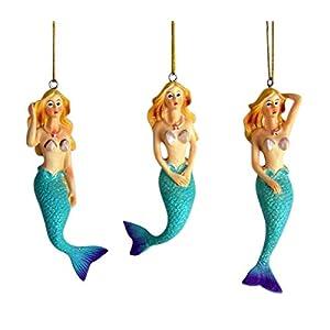 41JyeOdBORL._SS300_ 100+ Mermaid Christmas Ornaments