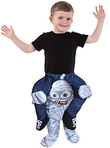 Disfraz de a cuestas Momia para niños pequeños con ilusión Montar ...