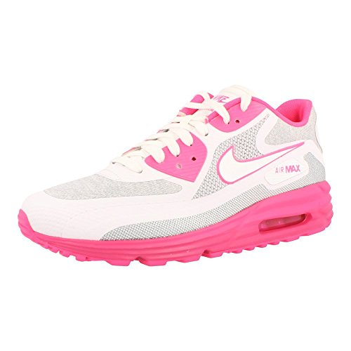 Nike Women's Air Max Lunar90 C3.0 Hypr Pnk/White/Lt Mgnt/Vvd Pnk Running Shoe 8 Women US (Nike Air Max 90 Hyperfuse compare prices)