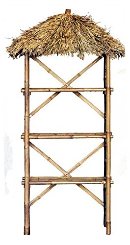 """Review Bamboo 54 3 Tier Bamboo Palapa Shelf, 75"""" H x By Unknown by Unknown"""