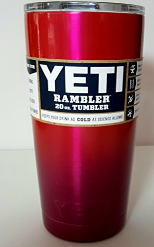 Yeti Rambler, Powder Coated, Custom Colors (30 ounce, Dueling Pinks)