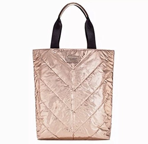 Victoria Secret, Borsa tote donna oro gold