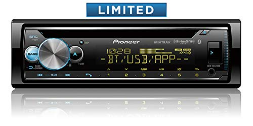 (Pioneer CD Receiver with Enhanced Audio Functions, Pioneer Smart Sync App Compatibility, MIXTRAX, Built in Bluetooth and SiriusXM)