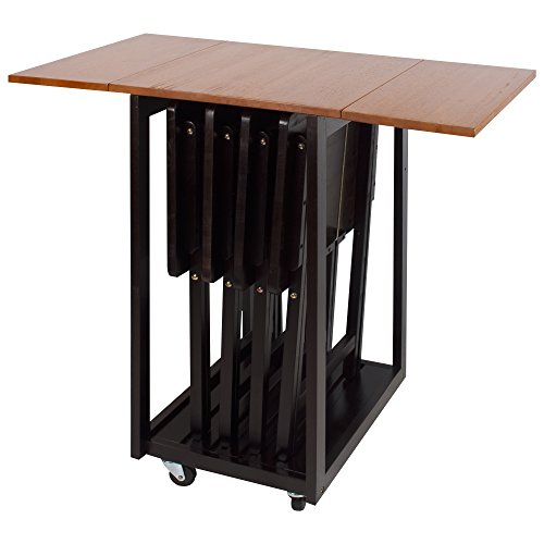 Casual Home 665-34 Drop Leaf Table with TV (Home Drop Leaf)