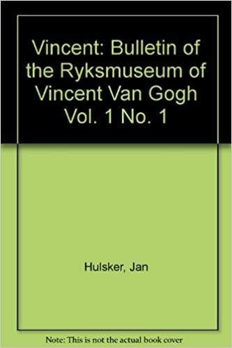 vincent bulletin of the ryksmuseum of vincent van gogh vol 1 no 1
