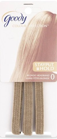 Goody Colour Collection Stayput Hold Blonde Headbands, Pack of -