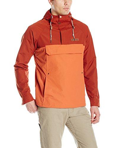 Columbia Men's South Canyon Creek Anorak Jacket, Tuscany, Rusty, Medium