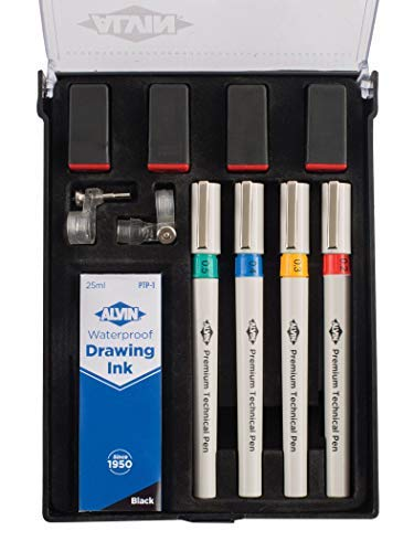 Alvin Premium Technical Pen Set 4 by Alvin (Image #1)