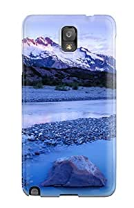 Awesome Design Mountain Lumber River Much Blue Light Nature Other Hard Case Cover For Galaxy Note 3
