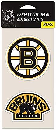 Wincraft NHL Boston Bruins 47975011 Perfect Cut Decal, 4-Inch X 4-Inch