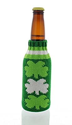 St Patricks Day Beer Bottle Sleeve - Accessories Party Supplies - Styles May Vary