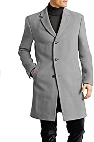 Tommy Hilfiger mens All Weather Top Coat Wool Blend Coat