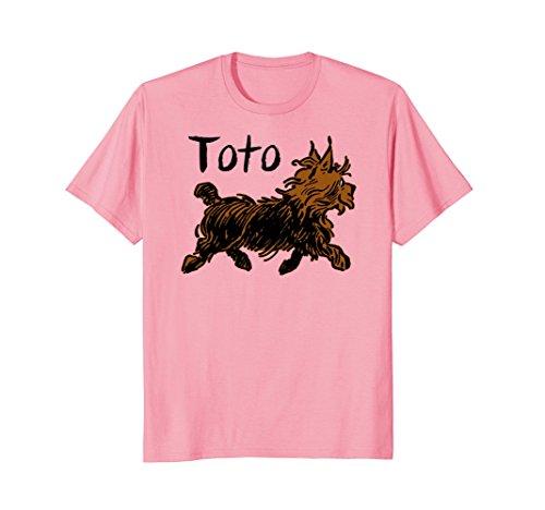 Pink Wizard of OZ Toto Shirt-Oz shirts for Girls & Women -