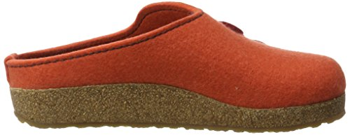 Haflinger Unisex Grizzly Adulto Canone Pantofole Arancione (cannella)