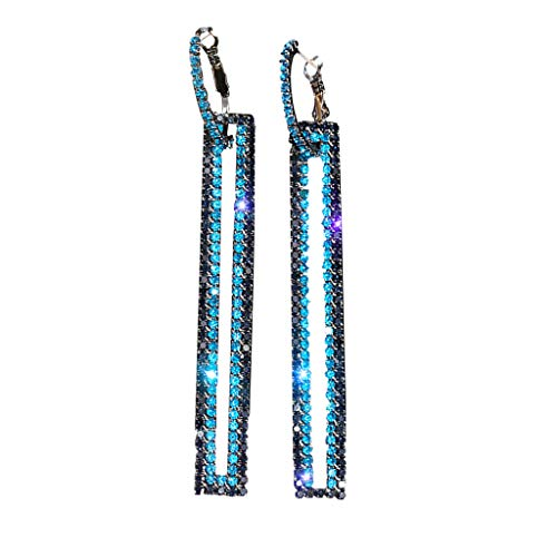 Easter's Best Gift !!! Cathy Clara Fashion Long Geometric Earrings Luxury Rectangle Earrings for Women Jewelry,Perfect Birthday Cocktail Party Holiday Wedding Gift for Lovers Girlfriends or Yourself