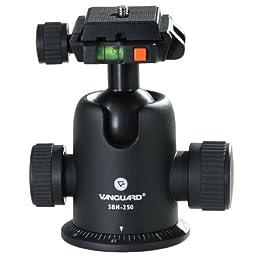 Vanguard SBH-250 Magnesium Ballhead with Sliding Quick Shoe