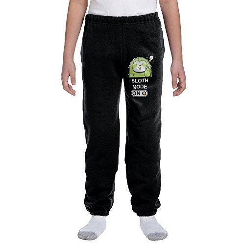 Sloth Mode ON Chill Bro Kids Boys/girls Running Pants
