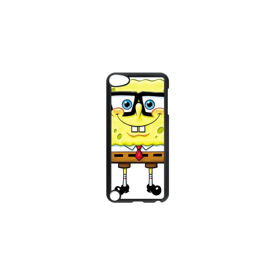 Personalized Music Case SpongeBob SquarePants iPod Touch 5th Case Durable Plastic Hard Case for Ipod Touch 5th Generation IT5SS81