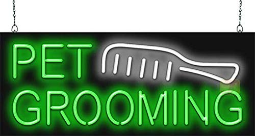 Pet Grooming Neon Sign
