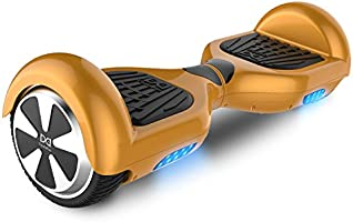Cool&Fun Hoverboard Patinete Electrico de GYROGEEK (Oro)