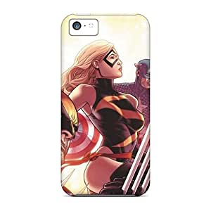 For CherryCore Iphone Protective Case, High Quality For Iphone 5c Avengers I4 Skin Case Cover
