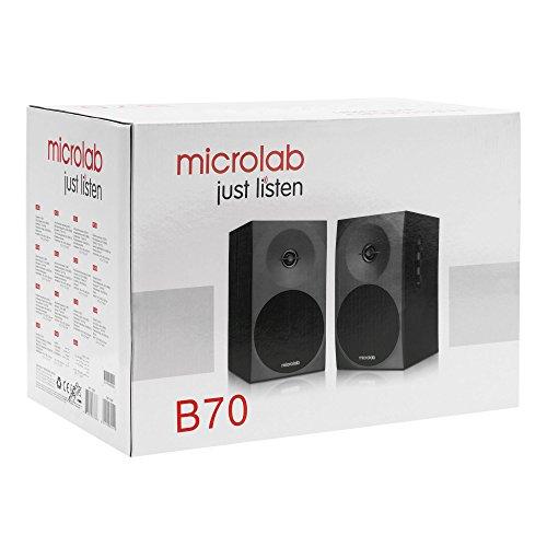 Microlab B70 2 0 Two-Way Bookshelf Stereo Speaker | Full