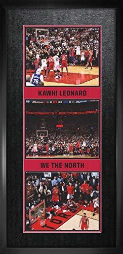 Kawhi Leonard 8x10 Framed Triple Photos Raptors The Shot