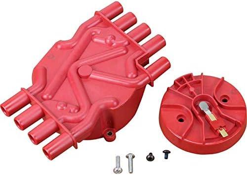 DRAGON FIRE High Performance Brass Terminal Vortec Distributor Cap Rotor For 1996-2002 Chevrolet GMC SB 5.0L 5.7L 350 305 V8 OEM Fit CAP1010-DF