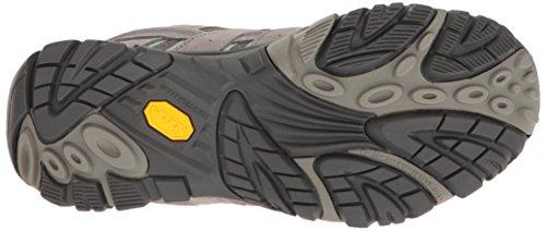 Merrell Women's Moab 2 WTPF Hiking Shoe, US Drizzle/Mint