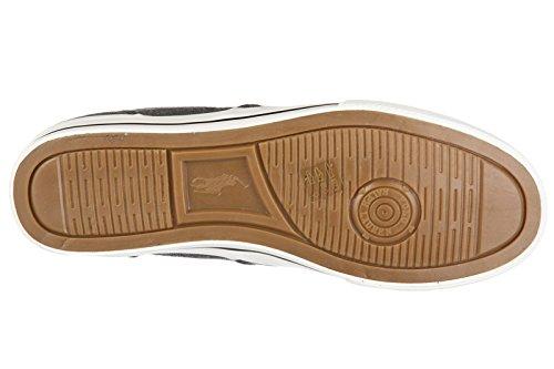 Polo Ralph Lauren chaussures baskets sneakers homme en coton vaughn gris
