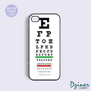 iPhone 4 4s Tough Case - Eye Test Chart iPhone Cover