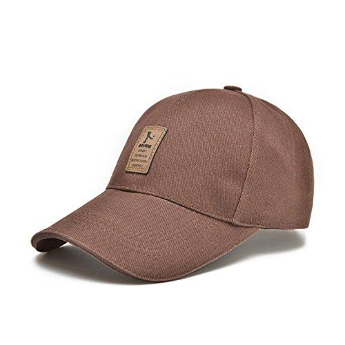 Rankei Men's Cotton Baseball Cap 6 Panel Snapbacks Bone Polo Hat Z-1936,OneSize,ColorNo7