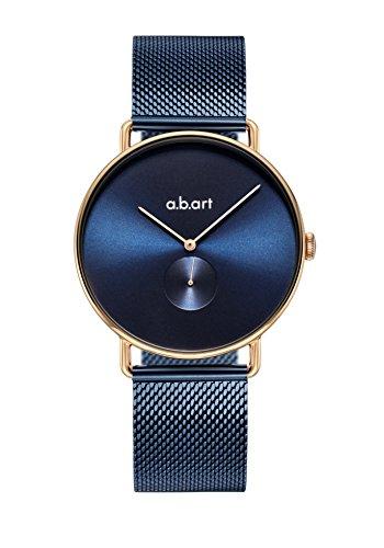abart Blue Watch FA36-012-5S Quartz Movement Blue Dial Sapphire Crystal Women Wristwatch (Movement Ronda Quartz)
