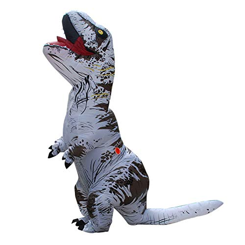 (Inflatable Dinosaur Costume Trex Funny Costume Adults Kids - Blow up Child Halloween Costume)