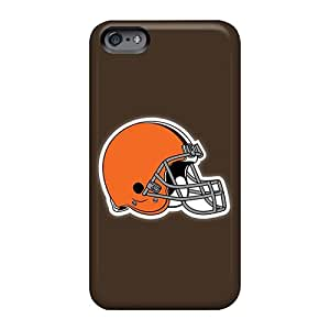 Anti-Scratch Hard Phone Case For Apple Iphone 6s (oJW1893jgwv) Unique Design Fashion Cleveland Browns 3 Series