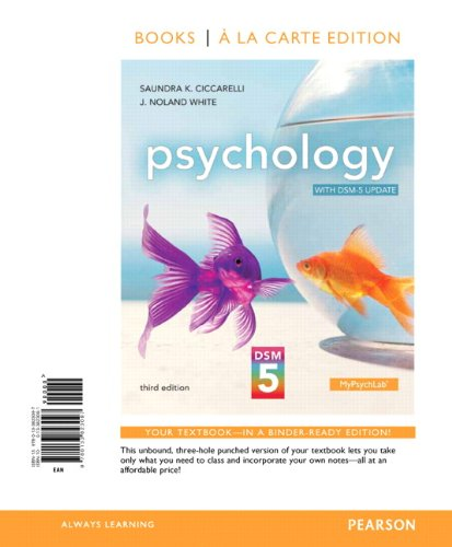 Psychology with DSM-5 Update, Books a la Carte Edition (3rd Edition)