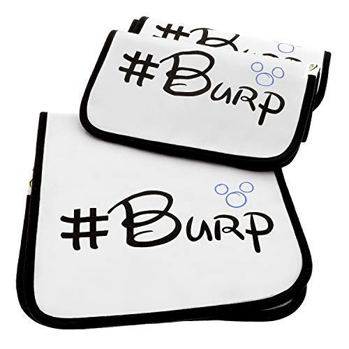 Quality World | 3-Pack Soft Baby Burp Cloths | Large 21